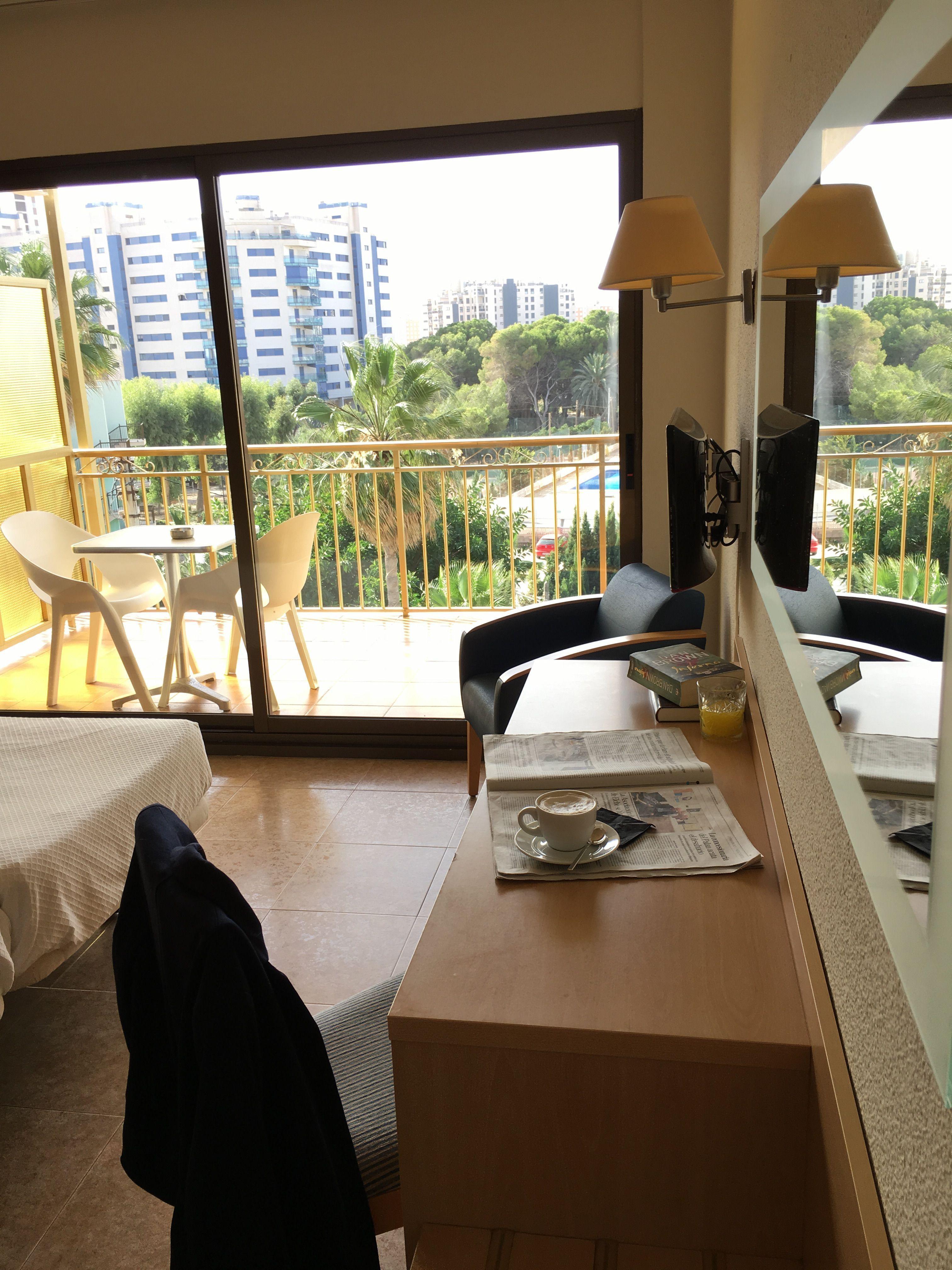 zona de trabajo con vistas hotel almirante