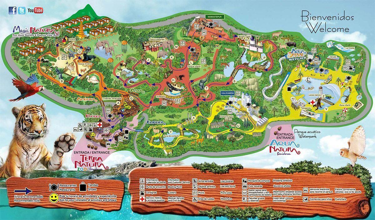 Mapa Terra Natura